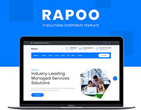Rapoo - IT solution & corporate template