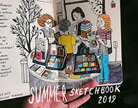 Summer sketchbook