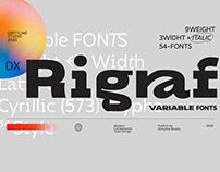 Dx Rigraf - Free Font