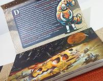 Serie Cósmica - Packaging con Tarjetas Postales