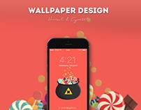 Hansel & Gretel | Wallpaper Design