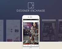 Designer Exchange iOS Mobile Application