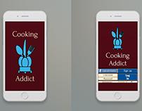 Mobile Cooking App UX Design