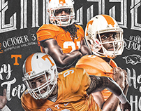 Tennessee Football Season Ticket / Program Design