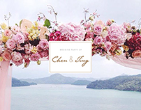 Wedding Visual Design / Chen & Ting