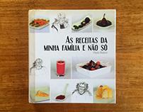 """Book """"As receitas da minha familia, e não só"""""""