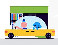 Gas station network animated explainer video