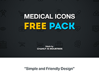 FREE! Medical Icons by Chanut-is-Industries