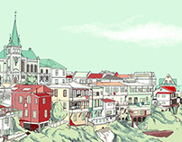Illustrations of Buildings and Places