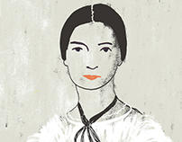 EMILY DICKINSON | portrait