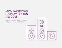 MCM WORLDWIDE AW18 | WINDOWS DISPLAY DESIGN
