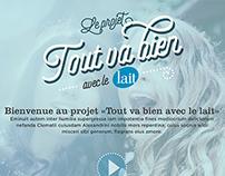 Le Lait - Fall 2015 web campaign