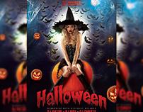 Halloween Flyer - Seasonal A5 Template