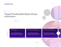 Portfolio - Landing Page Concept