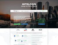 UX/UI/WEB for «Intelogis - Russia, Moscow