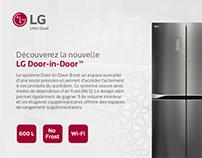 LG Door-in-Door - Print Ad Redesign