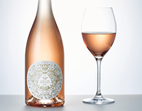 Crest Design for Golden Bough Rosé Label