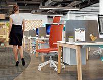Some CGI Office interior Viz