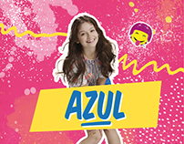 AZUL birthday card