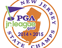 Logo Design - New Jersey PGA Jr. League Golf Champs