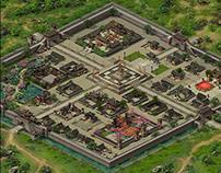 Concept design of game scene