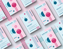 Funny Abstract Business Card Template for Sale