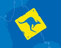Hello Australia Visual Identity