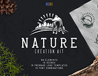 Nature Creation Kit | Photoshop and Illustrator