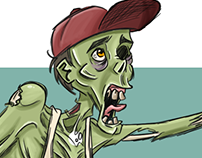 Desafio de Personagem Brush Rush - Pirata Zumbi