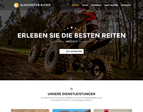 Website for a Quad/ATV Rental Company in Germany