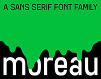 SK Moreau Typeface