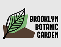 Re-design Brooklyn Botanic Garden's logo