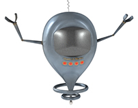 BuzzOMatic Robot