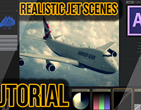 After Effects Tutorial : Realistic Jet Scenes - Element