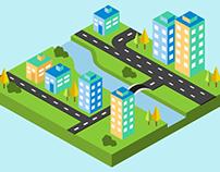 Isometric City - Animation