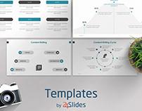 Copywriter Pitch Deck Template | Free Download