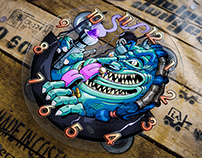 Reloj monster