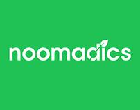 Noomadics logo design
