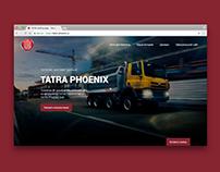 TATRA PHOENIX landing page