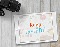 Keep it Tasteful Logo and Website Design
