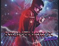 NIGHTHAW-X3000 PROMO POSTER