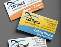 TSA Digital Branding and Logo