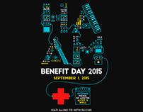 HAAM Benefit - Austin TX -Gig Poster