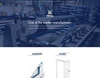 New Website Design - Fortress Aluminium