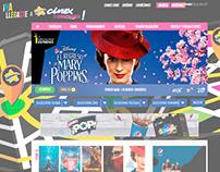 CINEX: Vitrinas Semanales ( Banners Web ) 2018