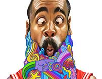 NBA caricatures