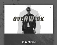 OVERWERK - Website Concept