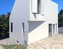 Renderings of the Vallvidrera House by Ylab Arquitectos
