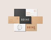 Brine Restaurant Branding