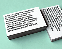 Business Card — 2012